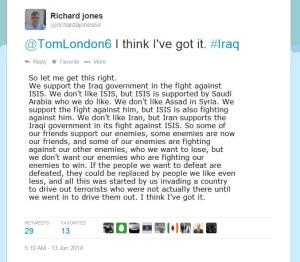 More Richard Alan Jones on Middle East Politics